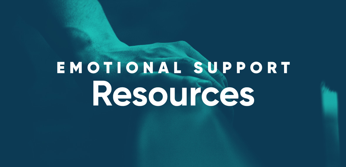 COVID-19 Emotional Support Resources