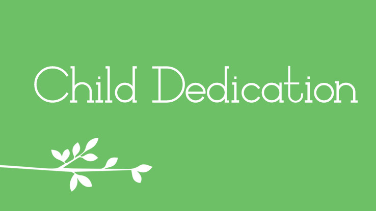 SouthPark Child Dedication