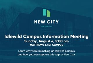 Idlewild Campus Information Meeting