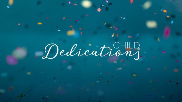 Matthews Child Dedication