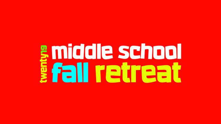 SouthPark Middle School Fall Retreat